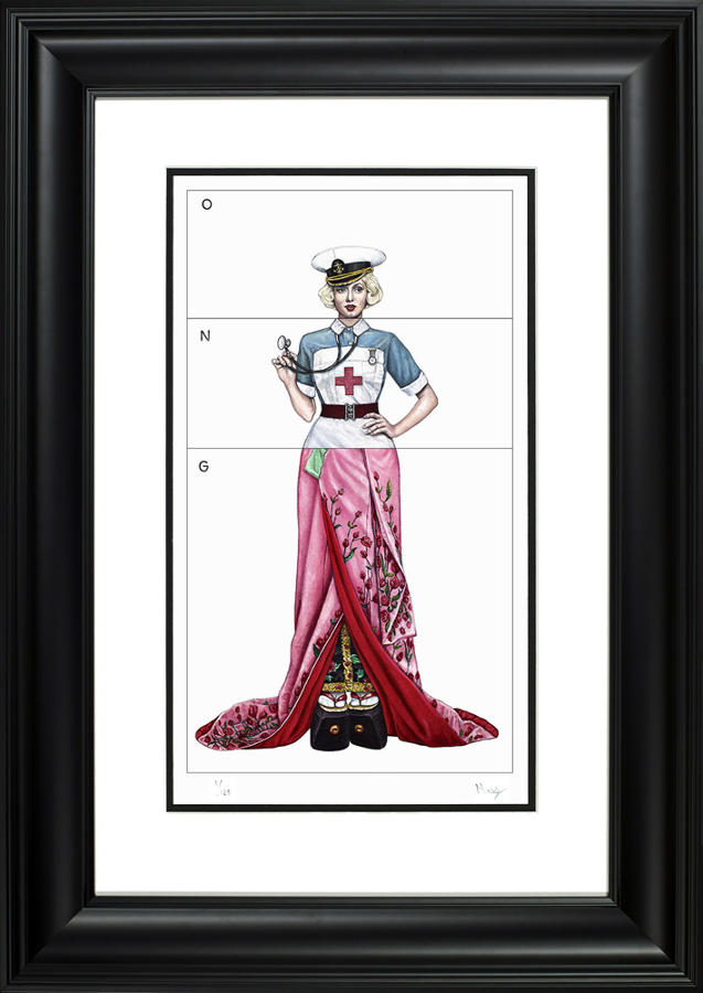 Andy Moss The Flight Lieutenant's Women Framed Art Print