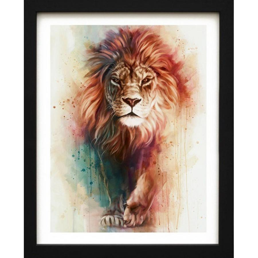 Pride Framed Canvas Art Print by Ben Jeffrey