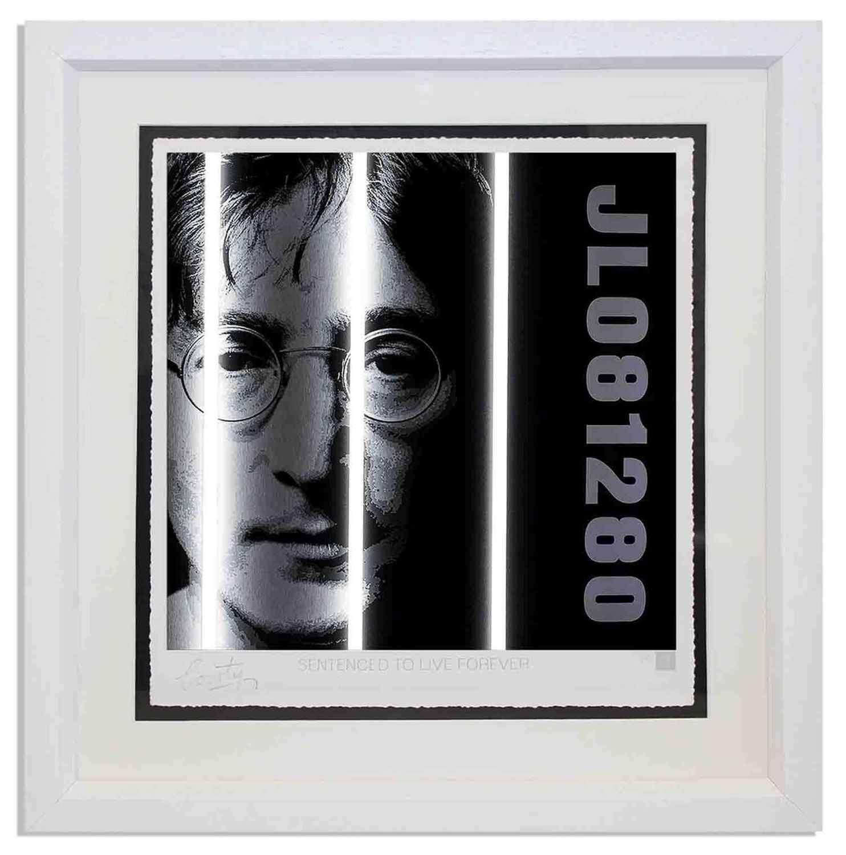 Courty - John Lennon - Life Series framed art print