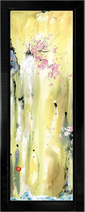 Attainment II framed art print Danielle O'Connor Akiyama