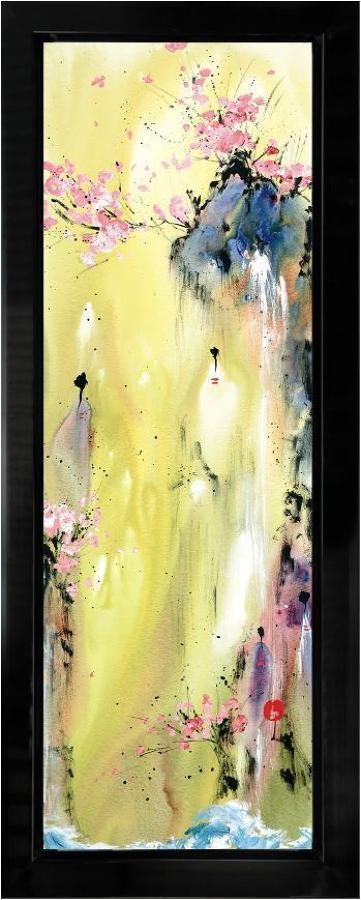 Attainment I framed art print Danielle O'Connor Akiyama