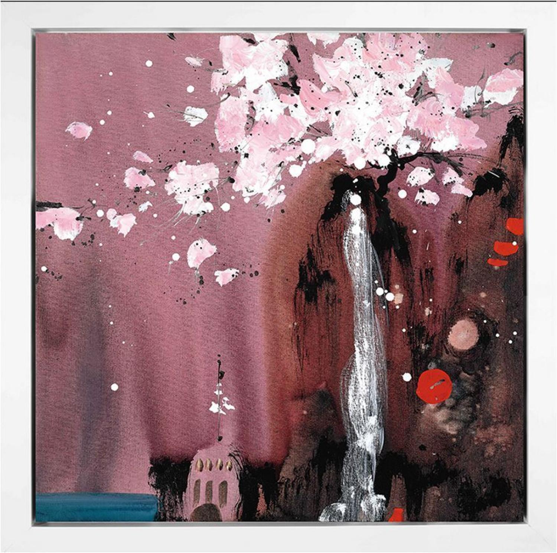 Painted Dreams I by Danielle O'Connor Akiyama- Framed