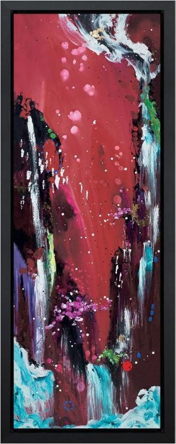 Fire Canvas Art Print Danielle O'Connor Akiyama