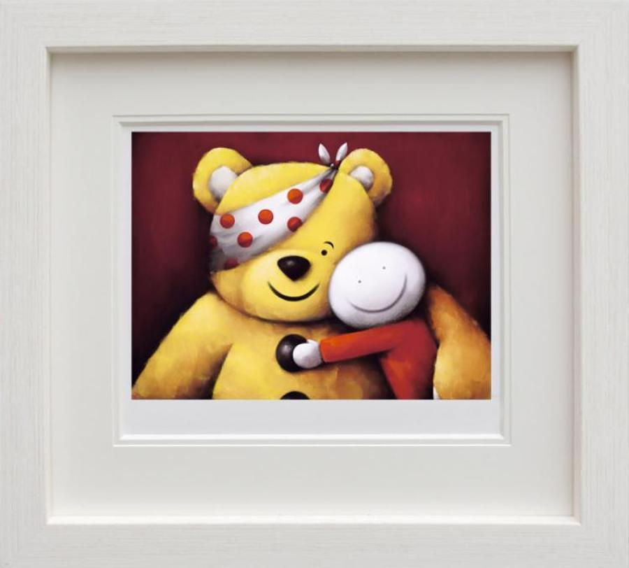 Doug Hyde - Pudsey-Framed Art Print