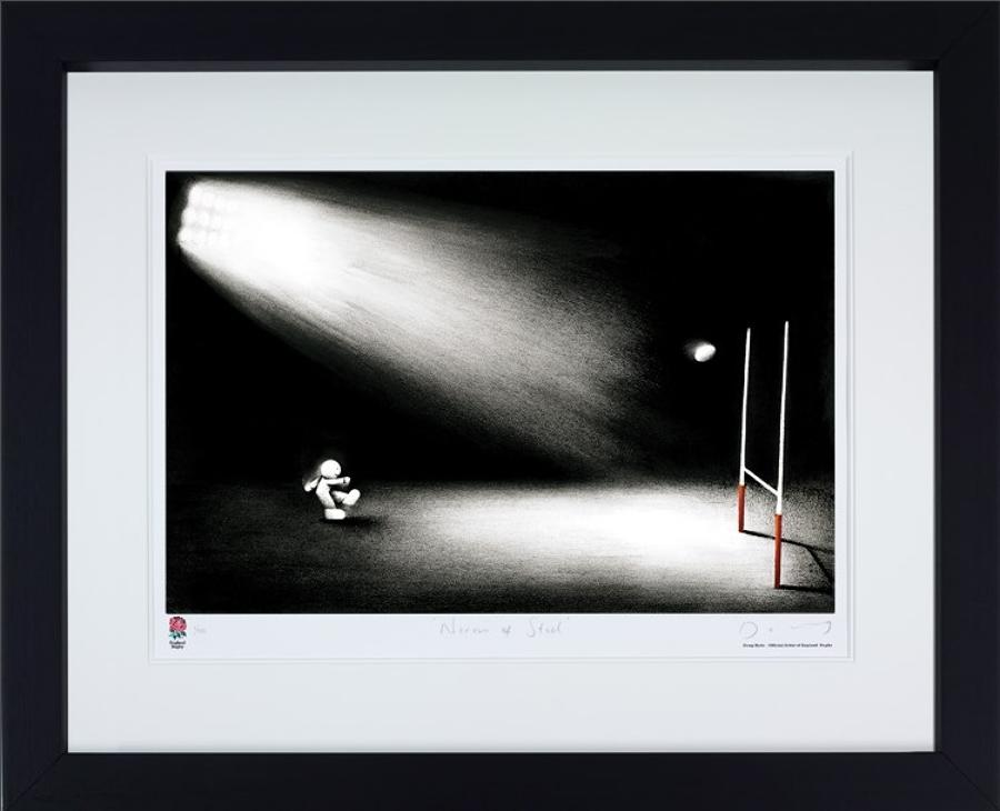 Doug Hyde - Nerves Of Steel Framed Art Print