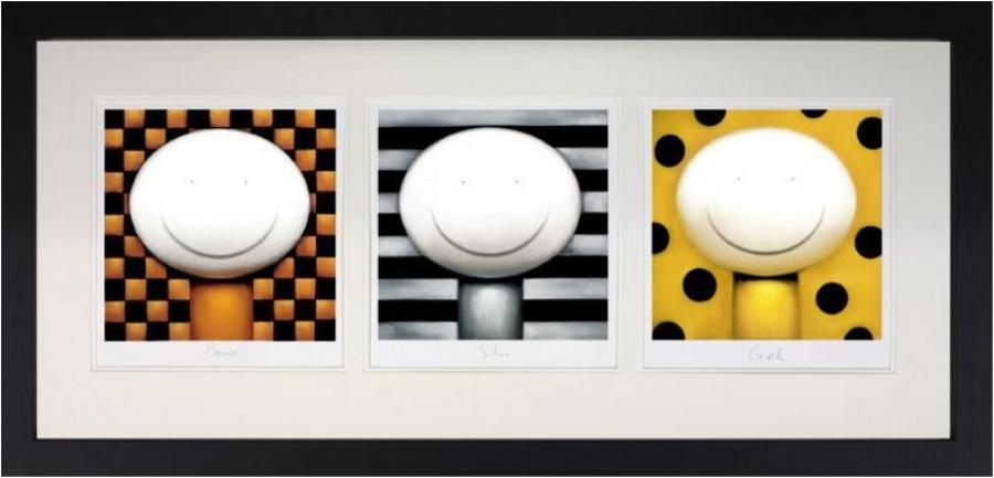 Doug Hyde - Bronze, Silver, Gold framed art print