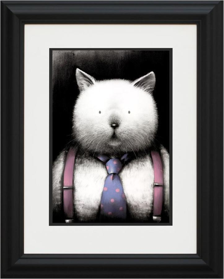 Doug Hyde - Top Cat framed art print