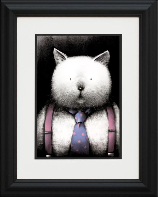 Doug Hyde - Top Cat framed art print