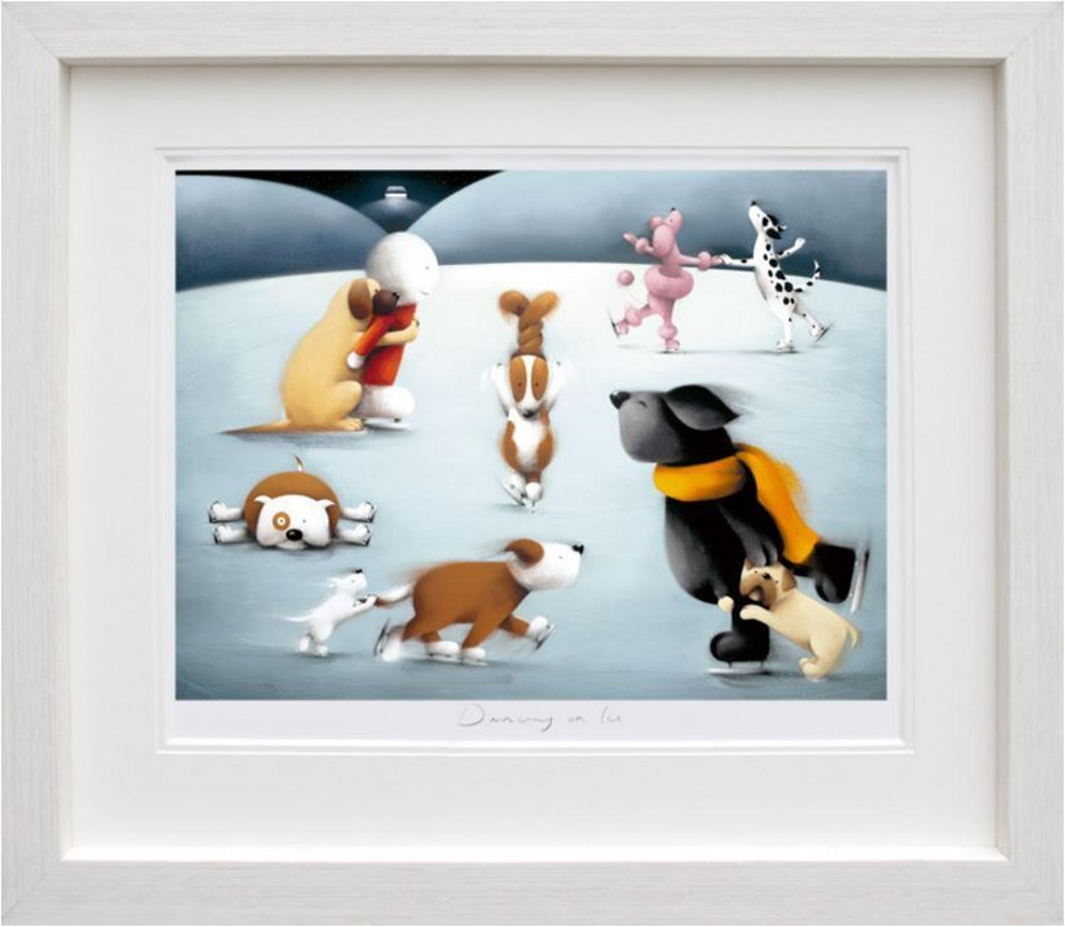 Doug Hyde - Dancing on Ice framed art print