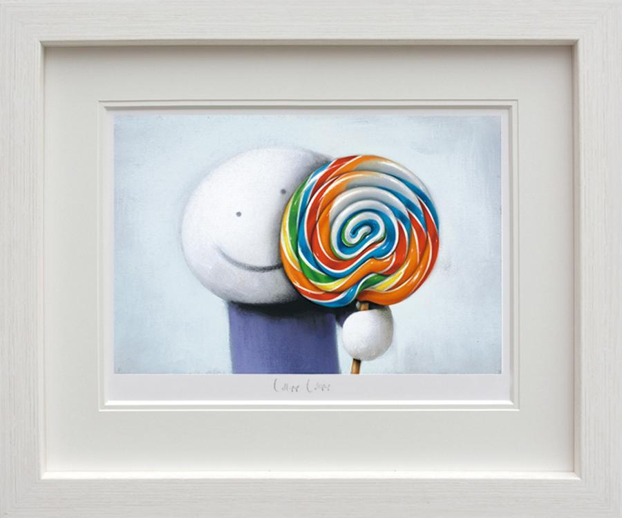Doug Hyde - Lollipop, Lollipop Framed Art Print
