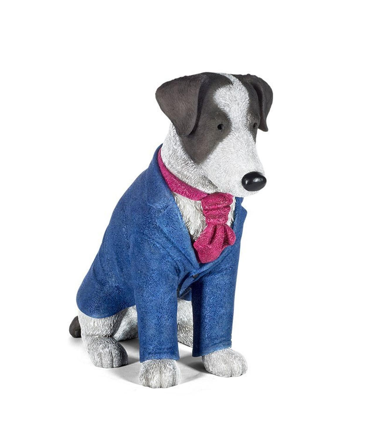 Doug Hyde - Suited and Booted Dog Sculpture