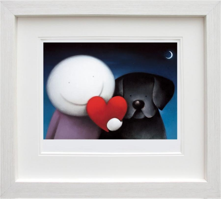 Doug Hyde - We Share Love Framed Art Print