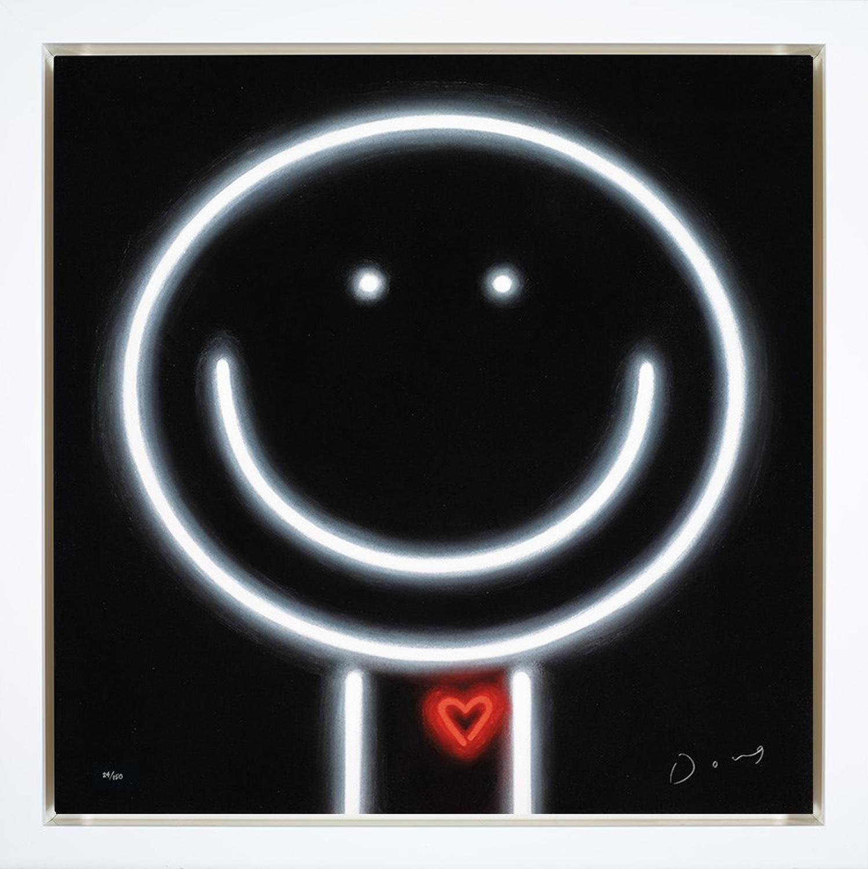 Doug Hyde - Heart Throb - Dye Sublimation Framed Art Print