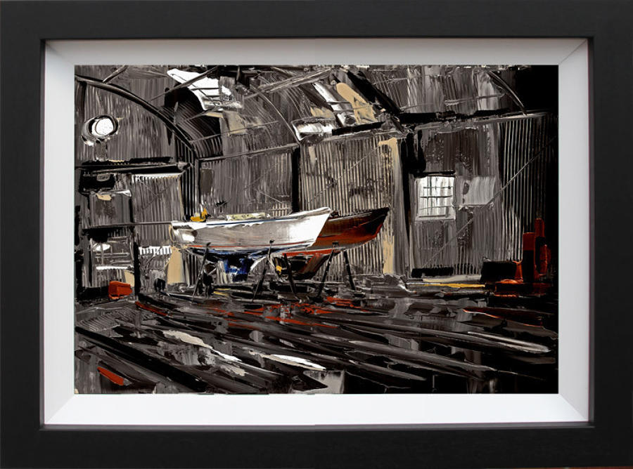 Duncan Macgregor - In For Repairs - Framed Art Print