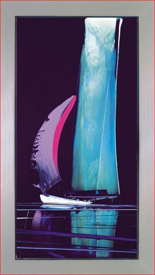 Duncan Macgregor - Midnight Echoes I - framed art print