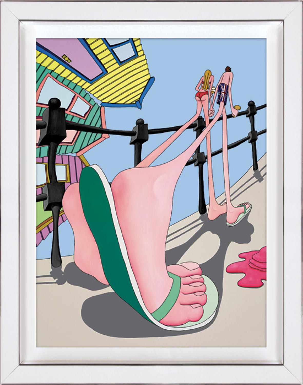 Walking Tall Framed Art Print By Dylan Izaak