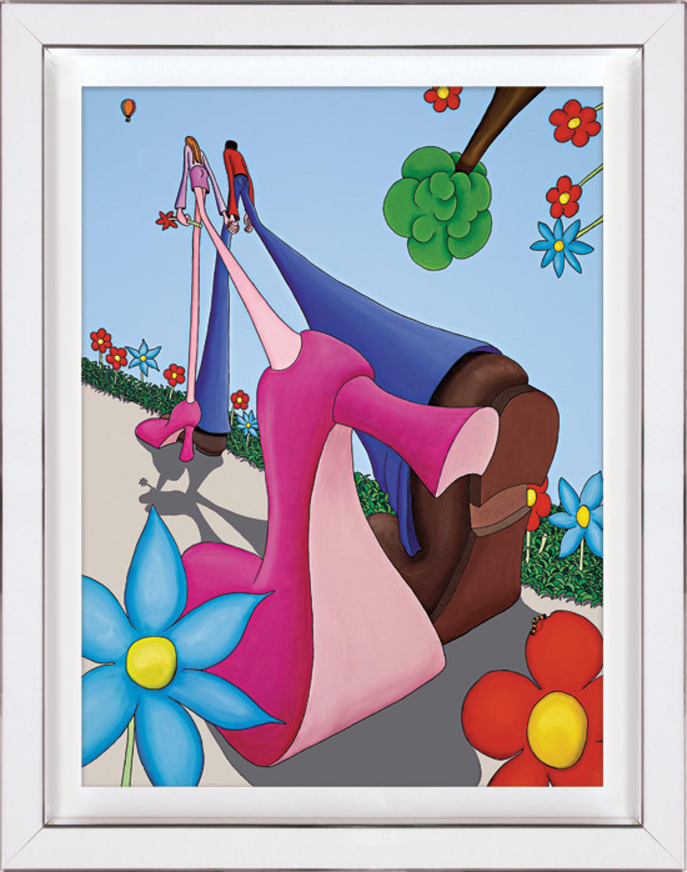 Best Foot Forward Framed Art Print By Dylan Izaak