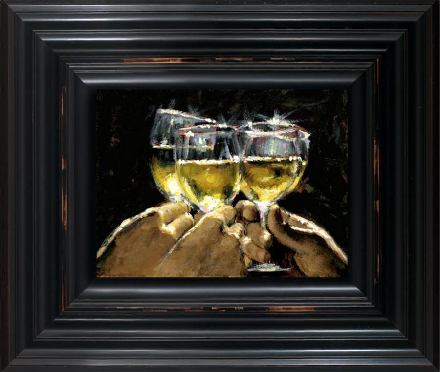 Fabian Perez - Study For White - Framed Art Print