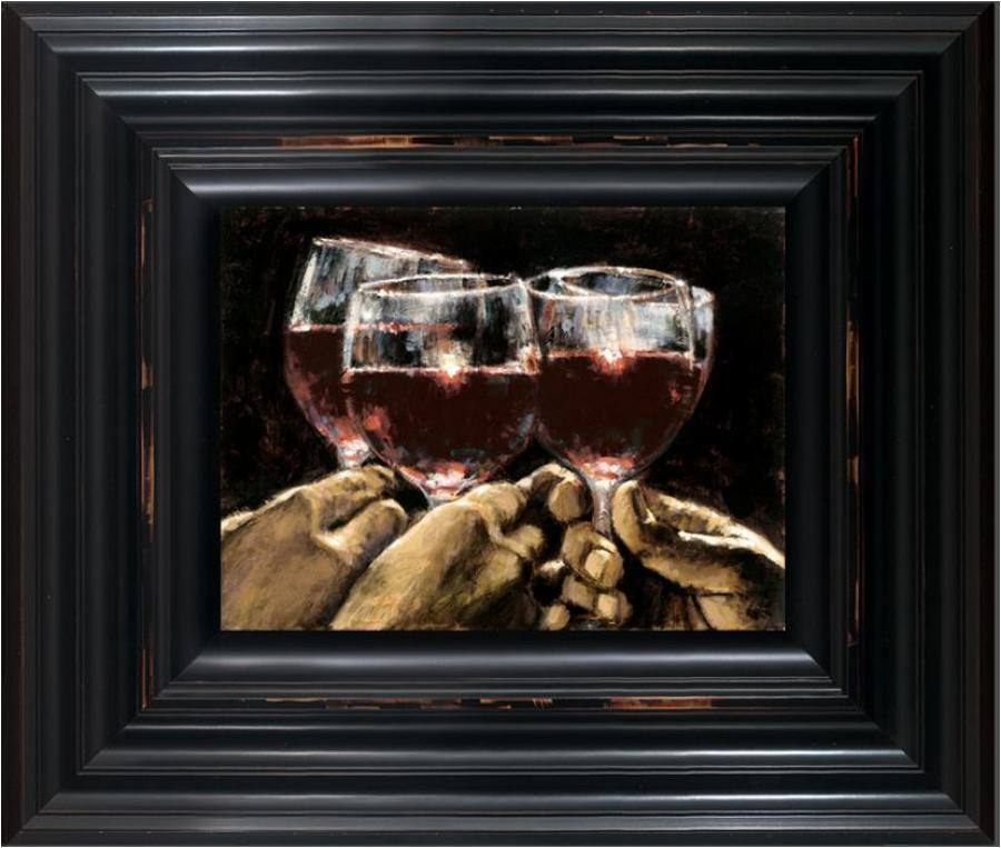 Fabian Perez - Study For Better Life IV - Framed Art print