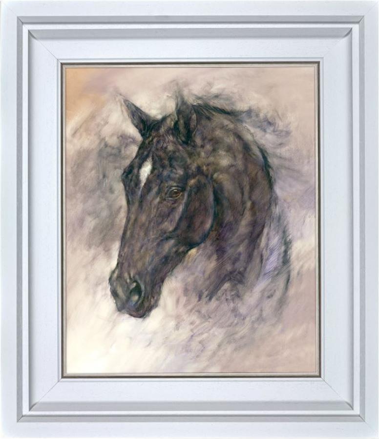 Gary Benfield - Midnight - Framed Canvas Art Print