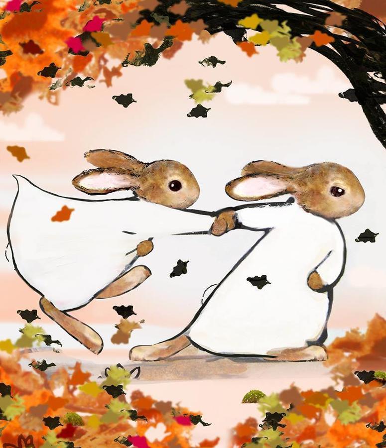 October Framed Art Print by Harry Bunce
