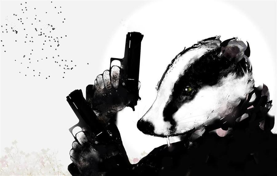 Ground Force- Badger-Rural Resistance by Harry Bunce