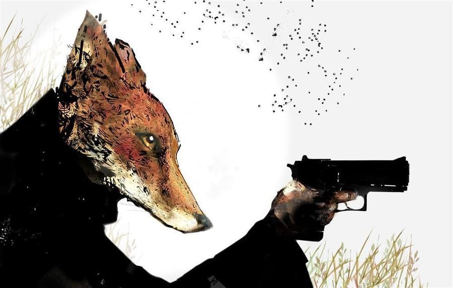 Field Commander Fox Rural Resistance by Harry Bunce