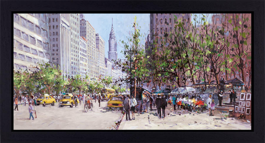Henderson Cisz - Midtown View - Framed Art Print