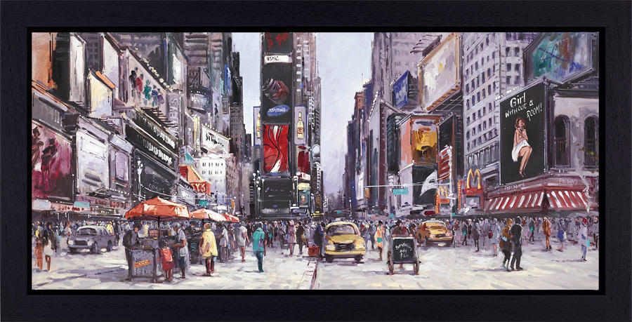 Henderson Cisz - New York Central - Framed Art Print