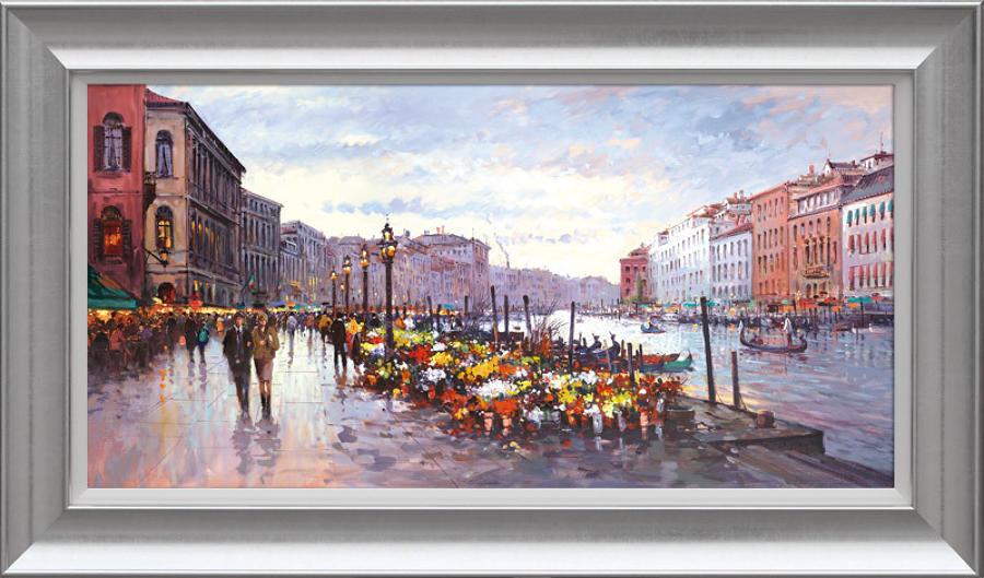 Henderson Cisz - Afternoon In Venice - Framed Art Print