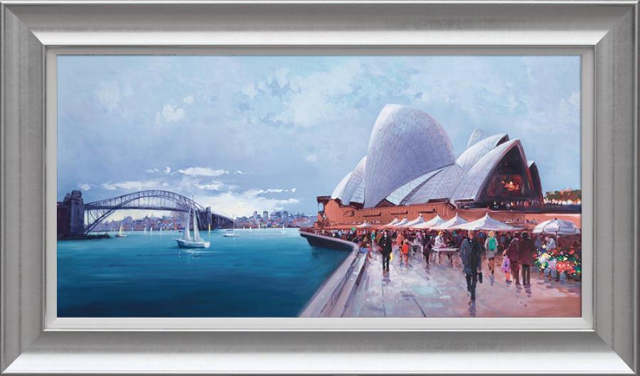 Henderson Cisz - Sydney Harbour - Framed Art Print