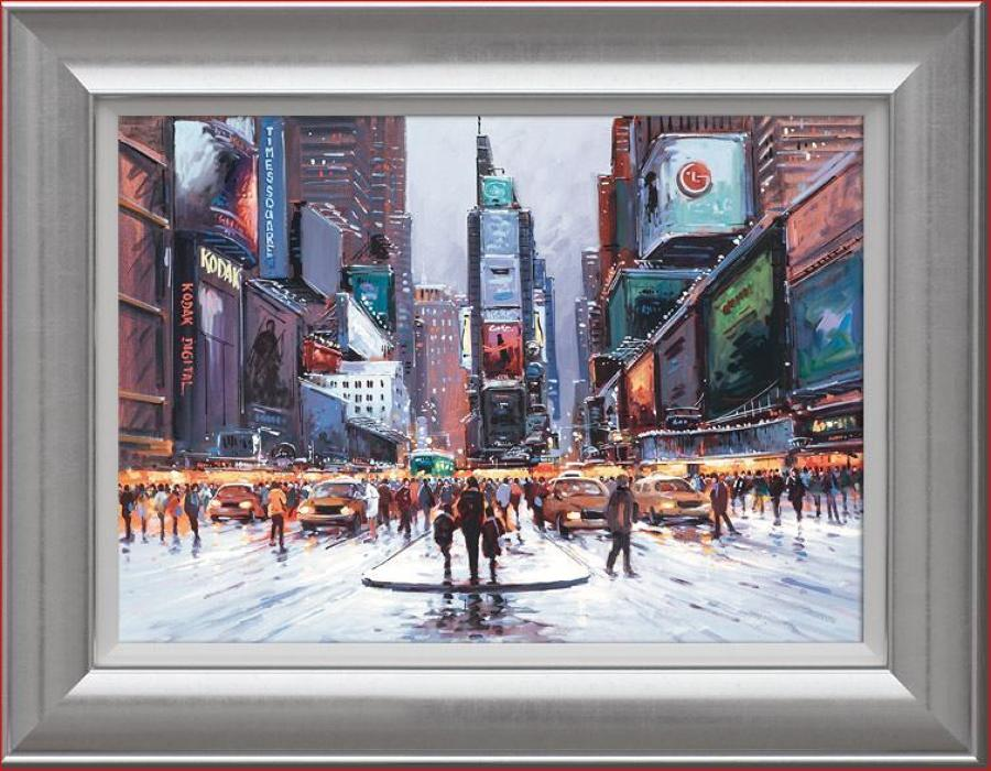 Henderson Cisz - Times Square at Twilight - Canvas Art Print