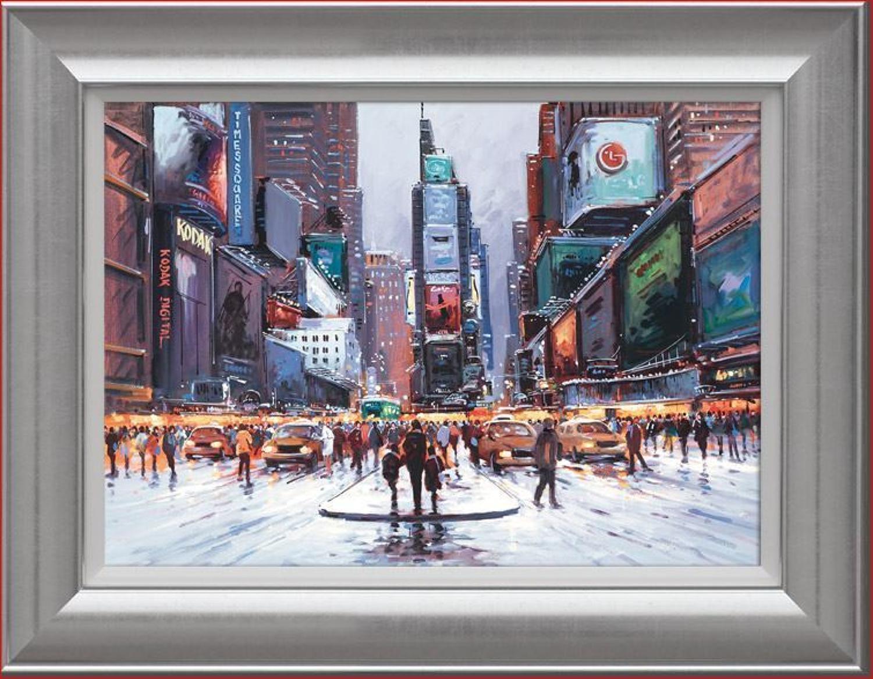 Henderson Cisz - Times Square at Twilight - Canvas Art Print