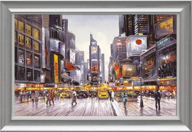 Henderson Cisz - Times Square Morning - framed art print