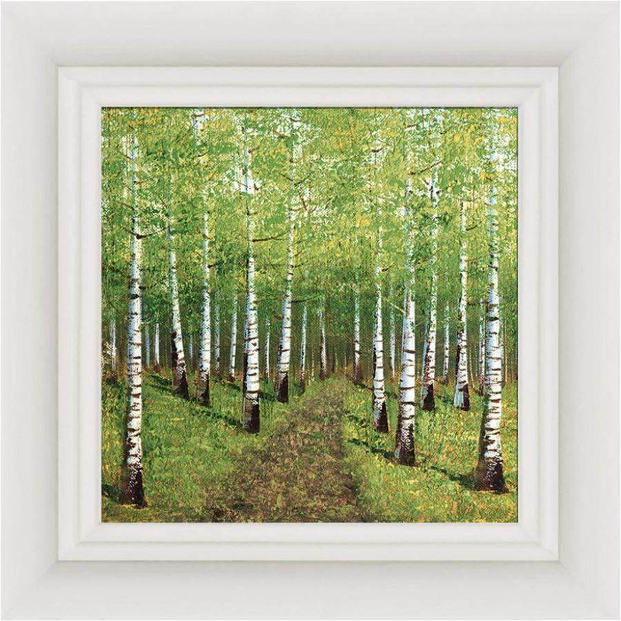 Season Of Shadows Framed Canvas by Inam