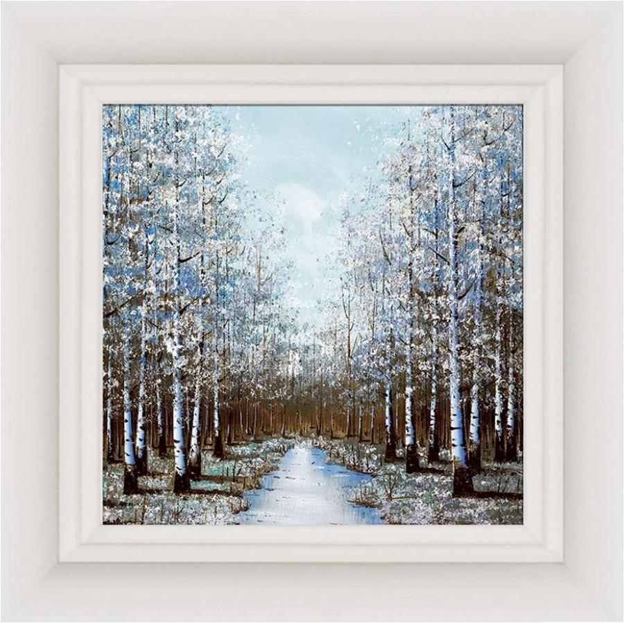 Season Of Mists Framed Canvas by Inam
