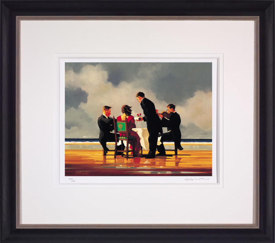 Elegy For The Dead Admiral-Framed Art Print By Artist Jack Vettriano