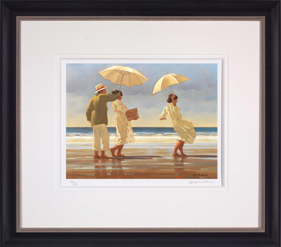 The Picnic Party-Framed Art Print By Artist Jack Vettriano