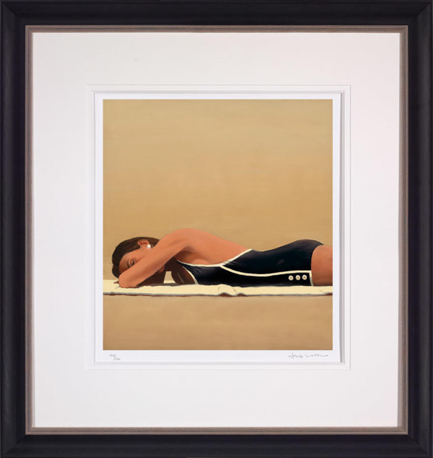 Scorched-Framed Art Print By Artist Jack Vettriano