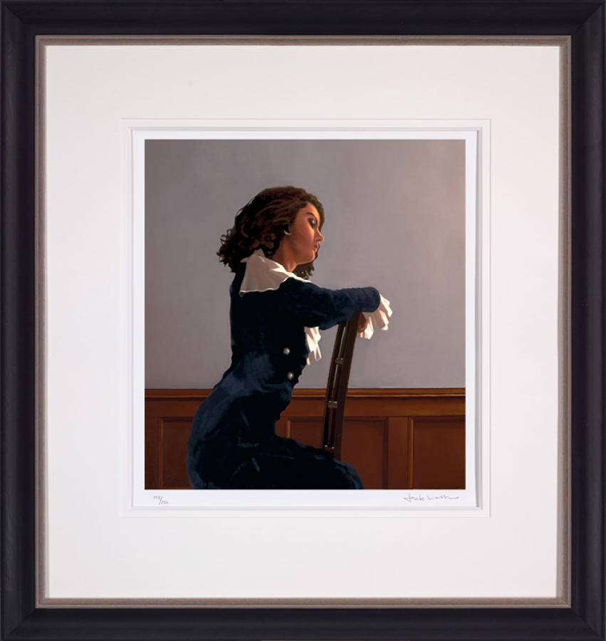 Afternoon Reverie-Framed Art Print By Artist Jack Vettriano