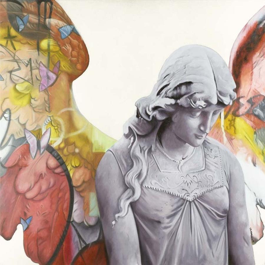 Peace Box Canvas Art Print By Artist Jody Craddock