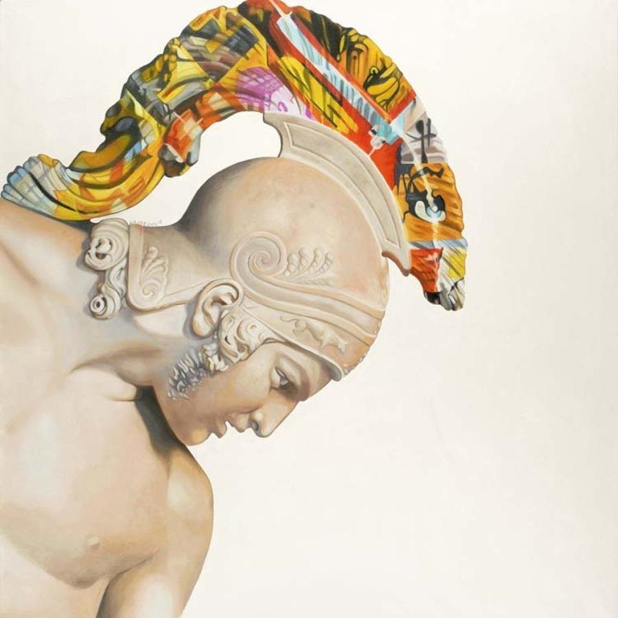 Nearly Immortal Box Canvas Art Print By Artist Jody Craddock