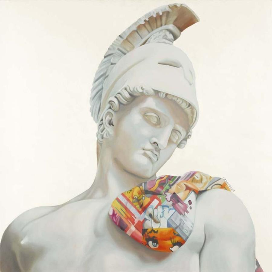 Loves restraint Box Canvas Art Print By Artist Jody Craddock
