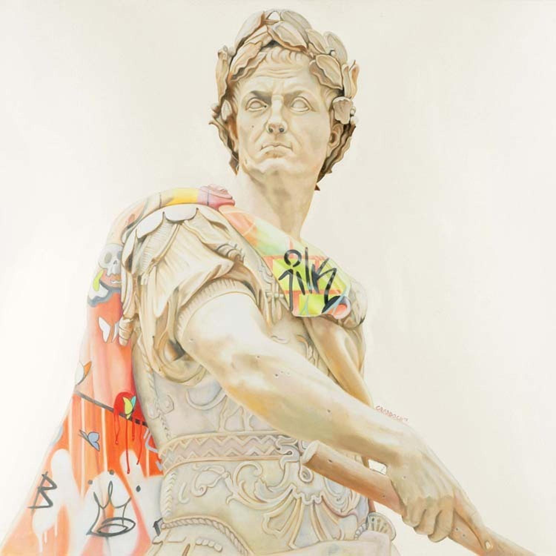 Leader Of Men Box Canvas Art Print By Artist Jody Craddock