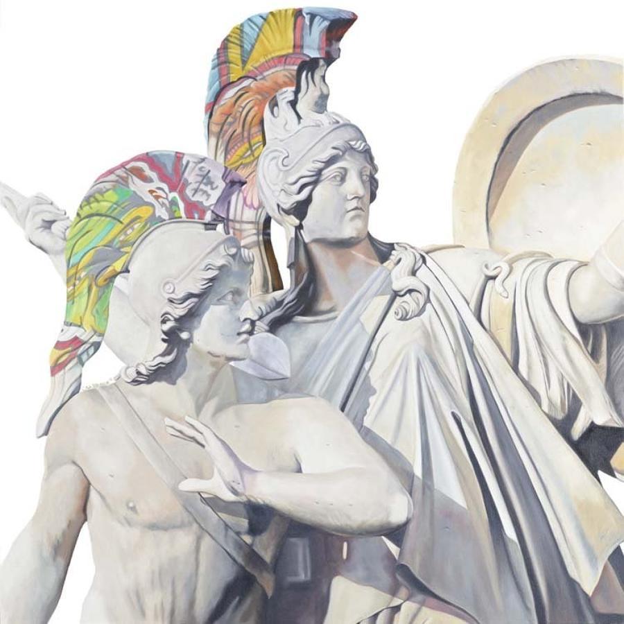 Athena Box Canvas Art Print By Artist Jody Craddock