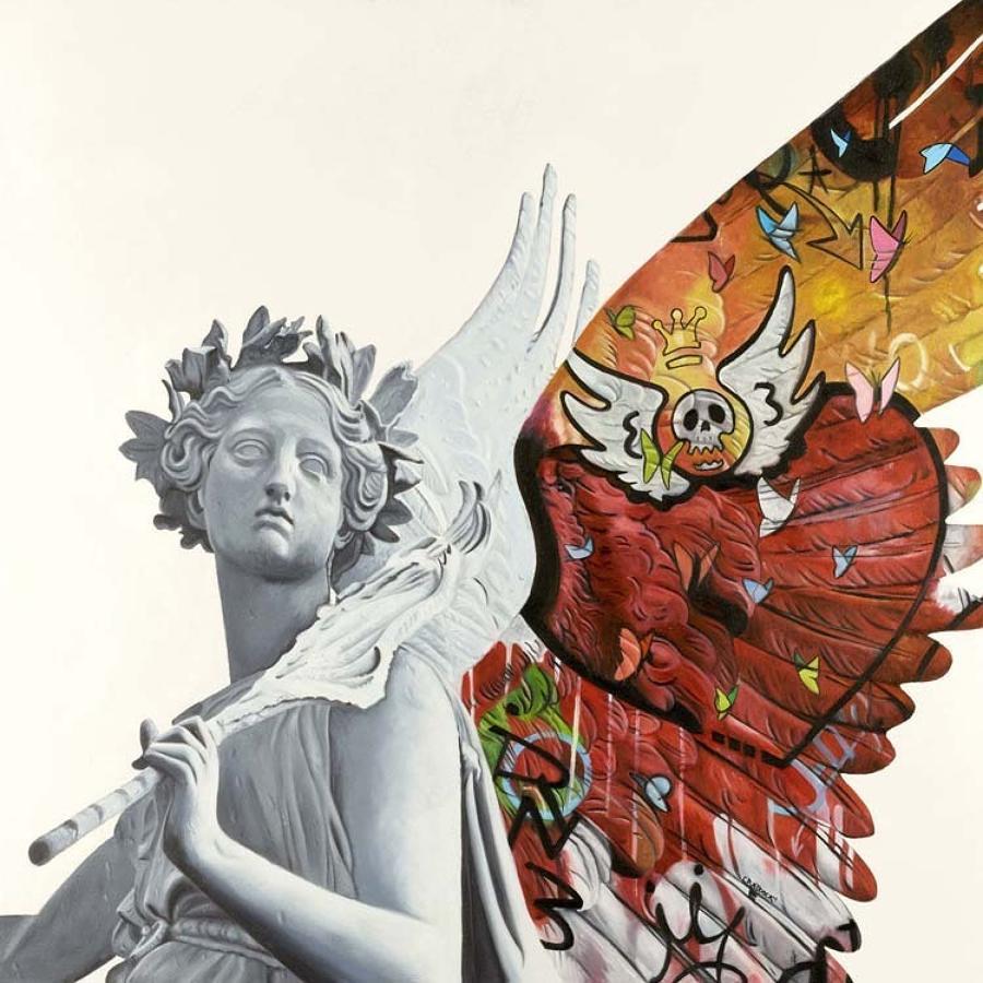 Angel Vlll Box Canvas Art Print By Artist Jody Craddock