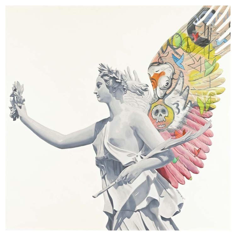 Angel II Box Canvas Art Print By Artist Jody Craddock