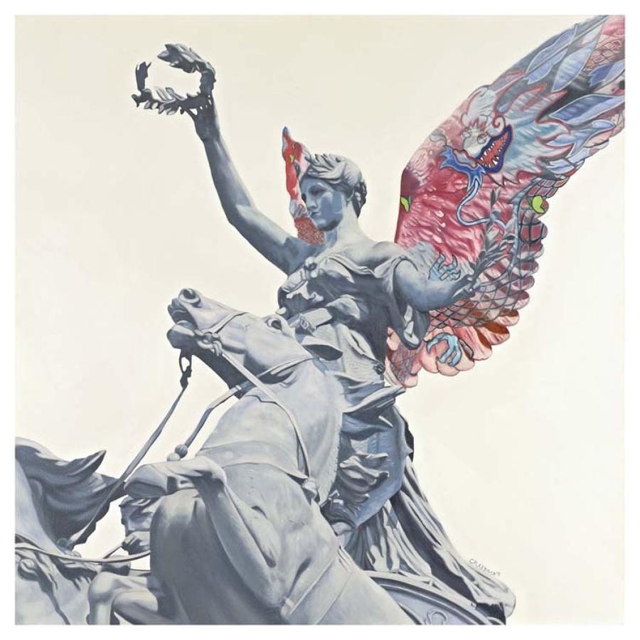 Angel I Box Canvas Art Print By Artist Jody Craddock