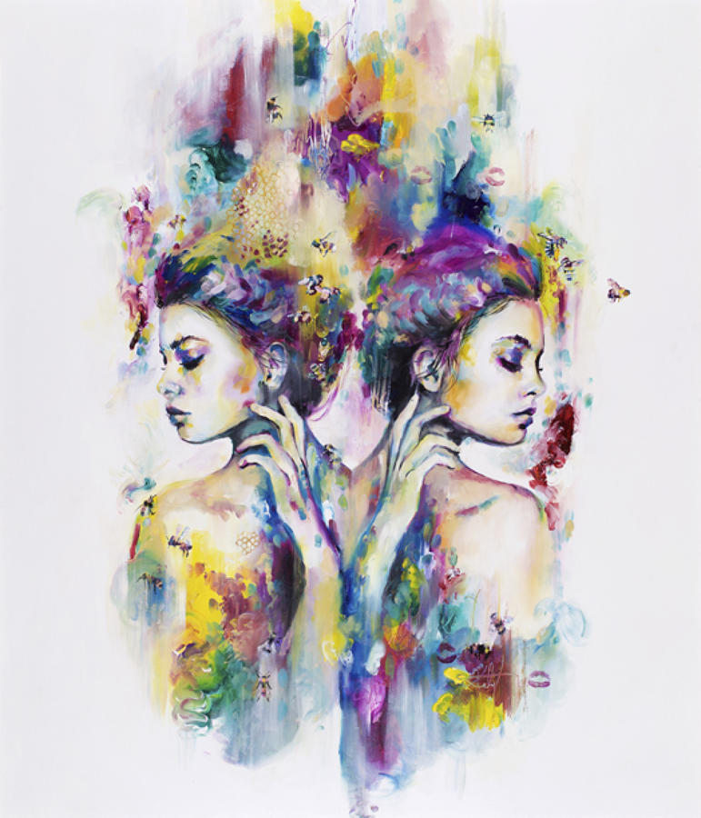 Nectar Of The Gods-Art Print By Katy Jade Dobson