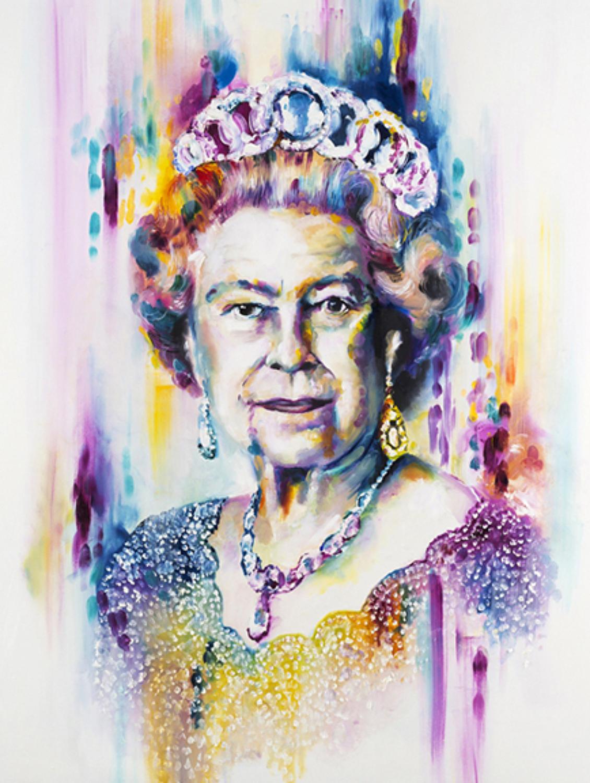 Her Majesty-Art Print By Katy Jade Dobson